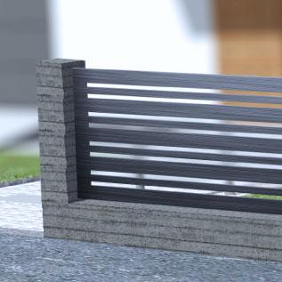 Elementy Dekoracyjne Przęsła Metalowe Wycinane Laserowo